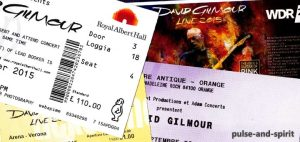David Gilmour Tickets 2015