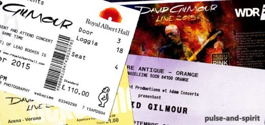David Gilmour Tickets 2015