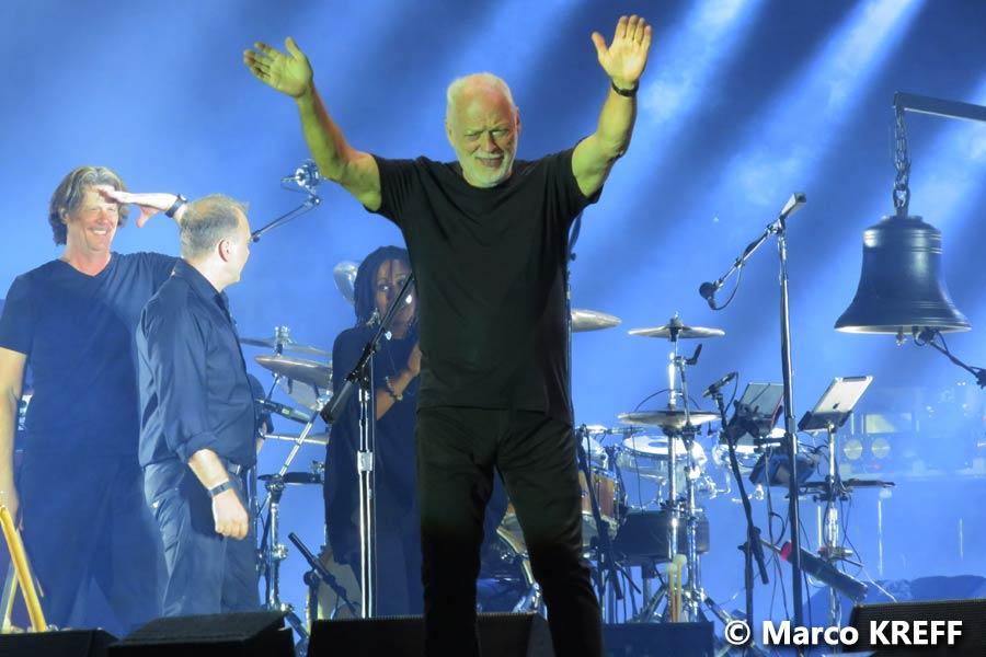 David Gilmour 28.7.2016 Tienen