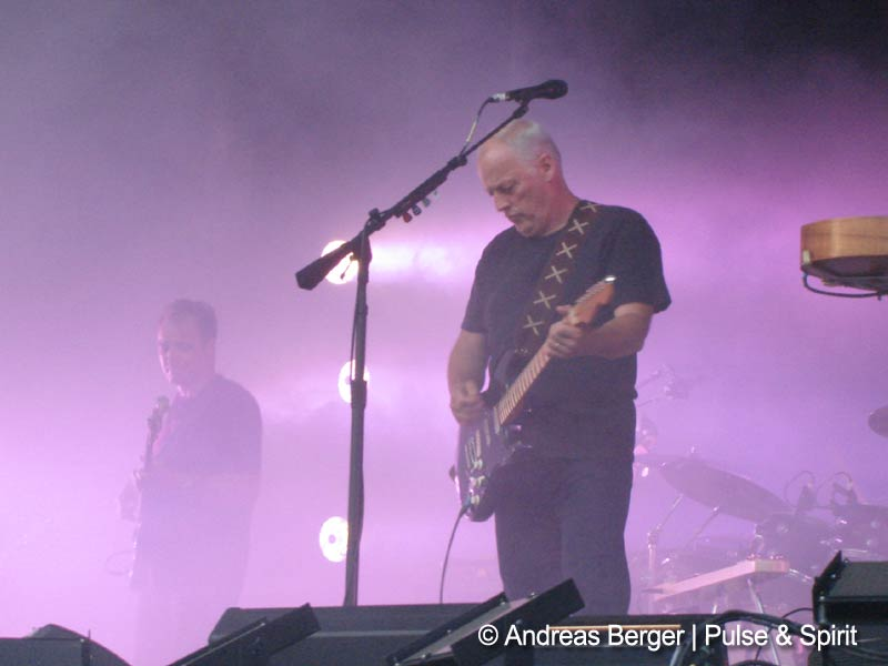 27.7.2006 Burg Klam: Guy Pratt und David Gilmour