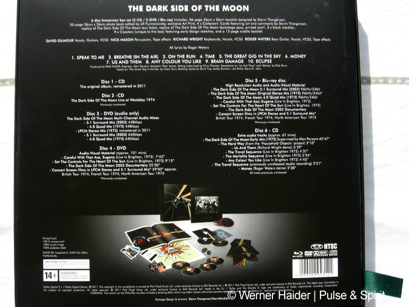 Dark Side Of The Moon Immersion Box Pink Floyd News Und Fanbasis