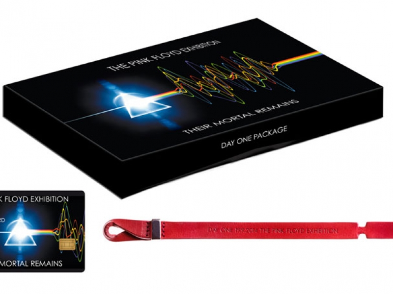 Pink Floyd Exhibition 2014 Mailand Ticket