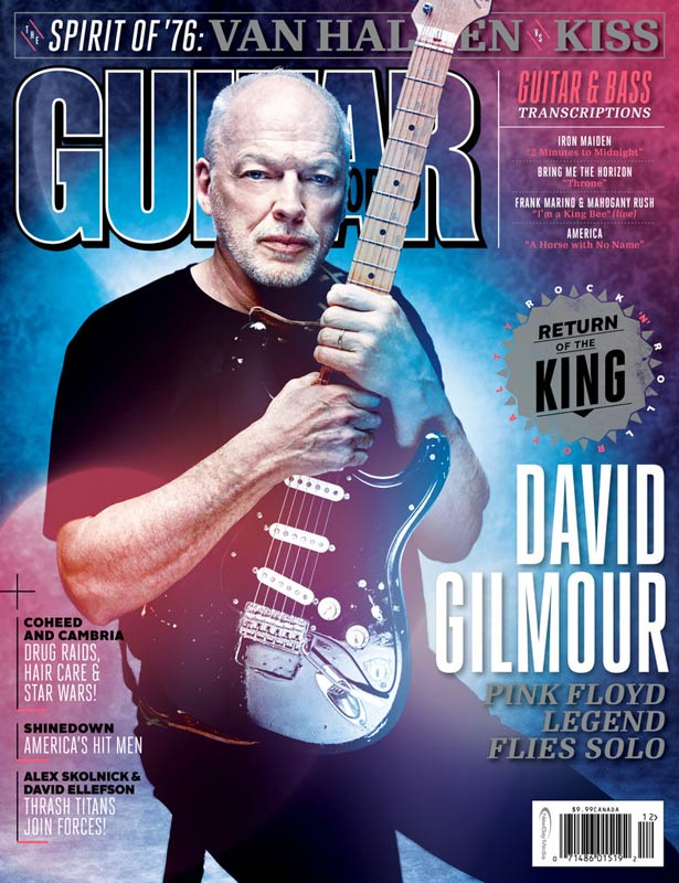 David Gilmour Guitar World (2015)