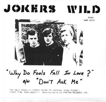 Jokers Wild feat. David Gilmour