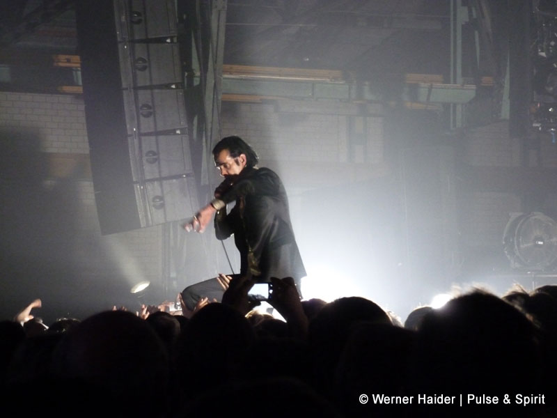 Nick Cave & The Bad Seeds 21.11.2013 München Zenith
