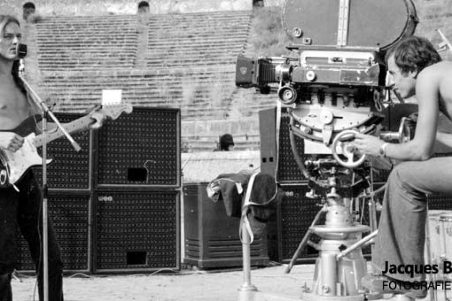 Pink Floyd Pompeii Jacques Boumendil