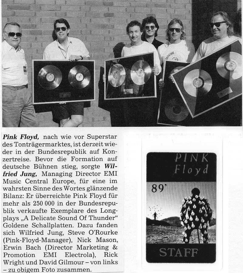 Pink Floyd 1989