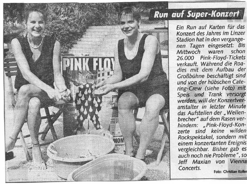Pink Floyd 23.6.1989 Linz