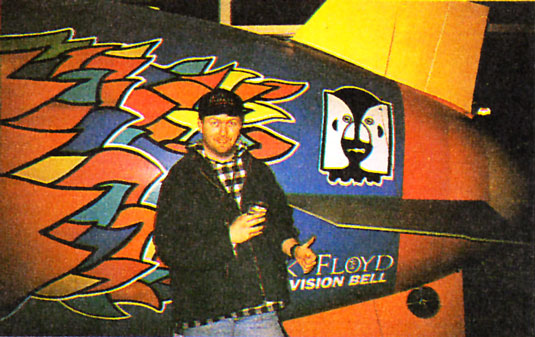 Pink Floyd Tourtstart 30.3.1994 Miami