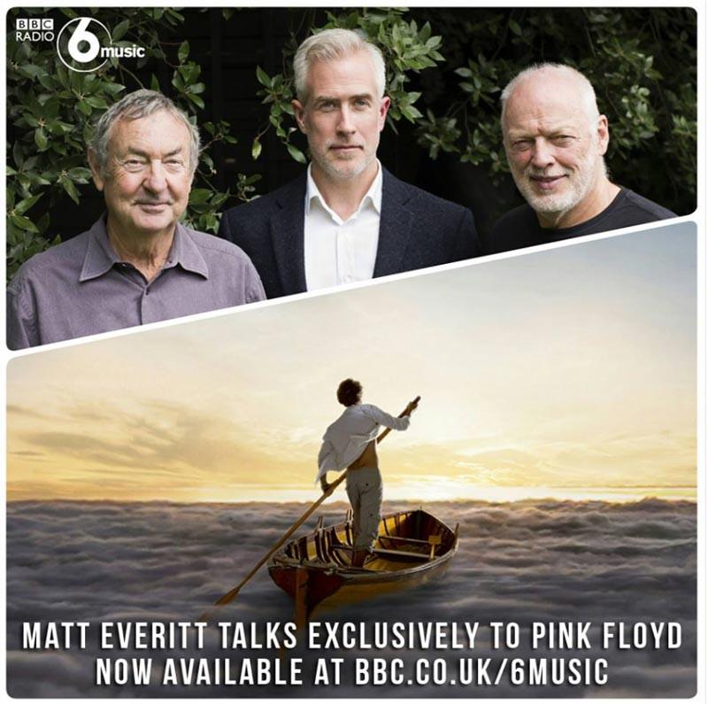 Pink Floyd Interview BBC6 Music