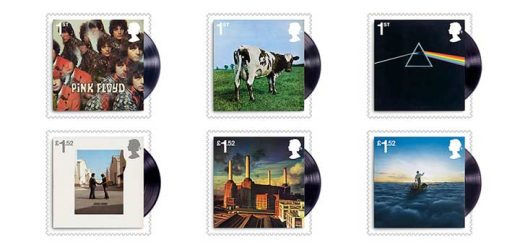 Pink Floyd Royal Stamps