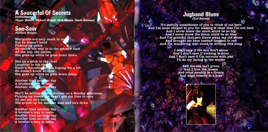 A Saucerful of Secrets CD Reissue 2016
