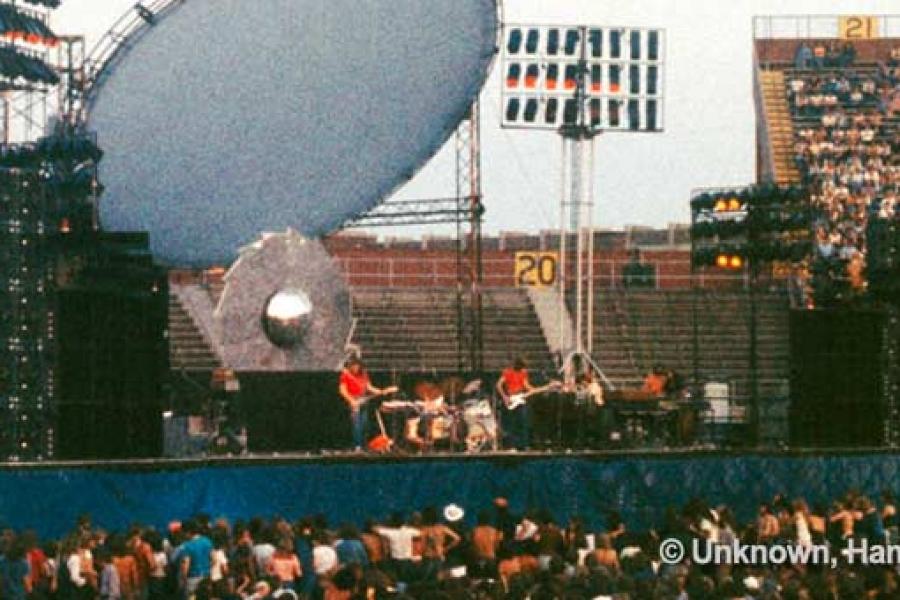 Pink Floyd 28.6.1975 Hamilton