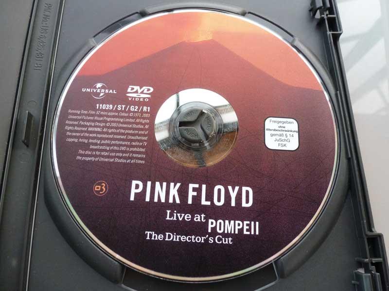 Pink Floyd Live at Pompeii DVD | Pulse & Spirit : Pink Floyd