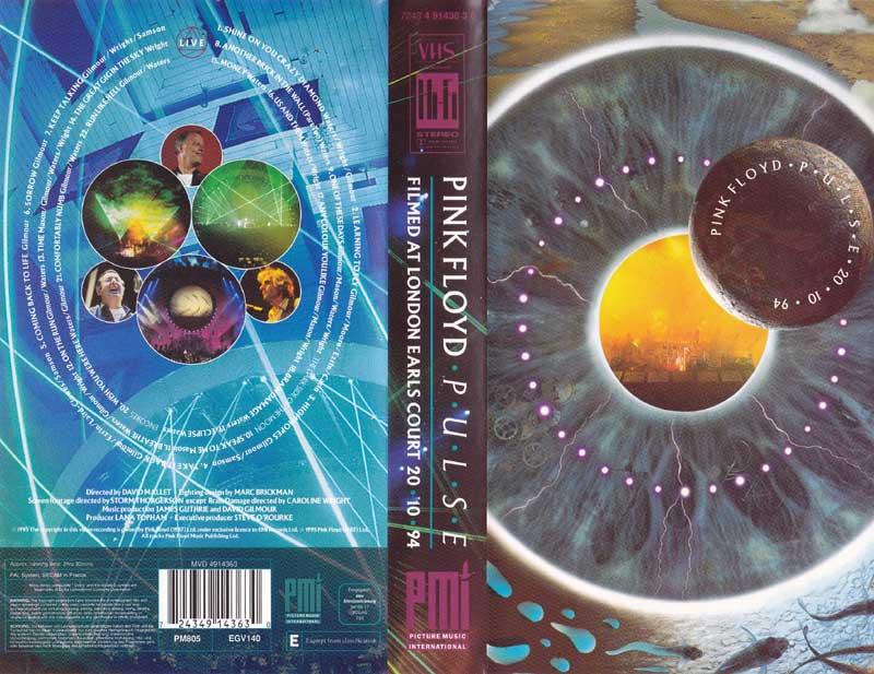 Pink Floyd - Pulse, VHS (1995)