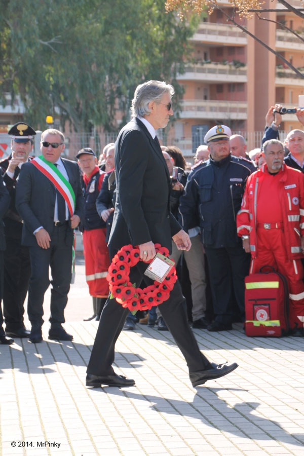Roger Waters in Aprilia (2014)