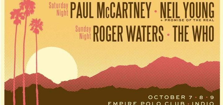 Roger Waters 2016 Desert Trip Poster