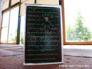 Roger Waters Radio Kaos Autogramm