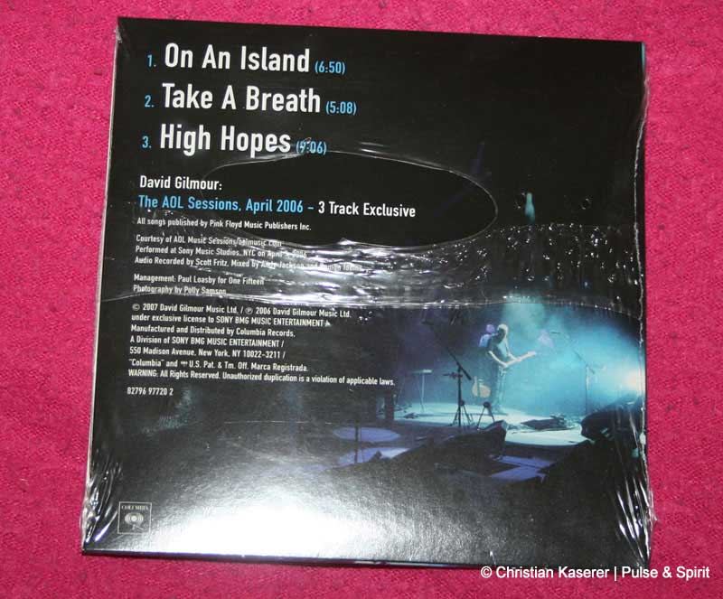 Remember That Night - Promo DVD/CD