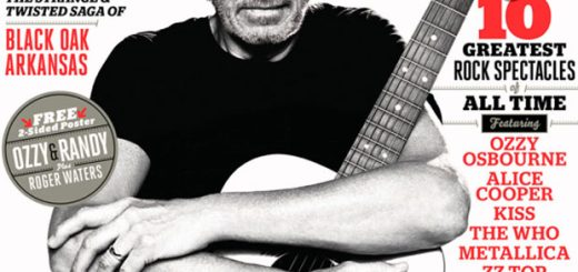 Roger Waters Guitar World 12/2013