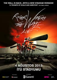 Roger Waters 4.8.2013 Istanbul - Poster
