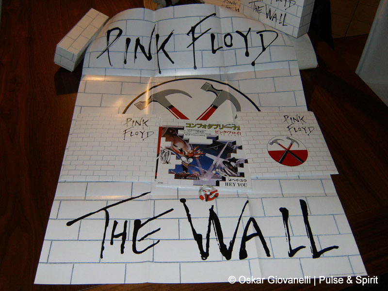 Pink Floyd The Wall Singles Box