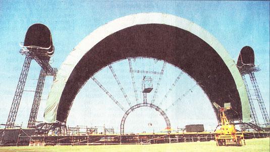 Pink Floyd 1994 Wiener Neustadt, Kurier