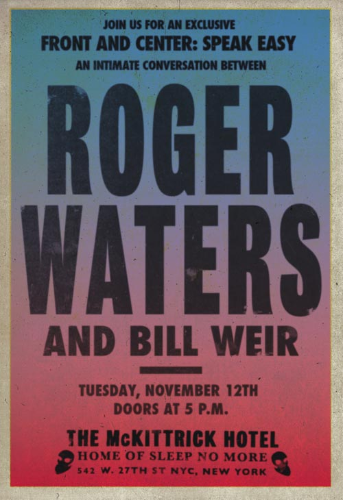 11.2013 Roger Waters Interview Bill Weir